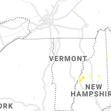 Regional Hail Map for Burlington, VT - Monday, July 13, 2020
