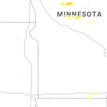 Regional Hail Map for Montevideo, MN - Monday, July 13, 2020