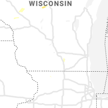 Regional Hail Map for Madison, WI - Tuesday, July 14, 2020