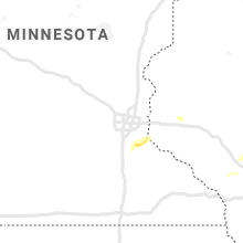 Regional Hail Map for Minneapolis, MN - Tuesday, July 14, 2020