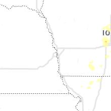 Regional Hail Map for Omaha, NE - Tuesday, July 14, 2020