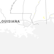 Regional Hail Map for New Orleans, LA - Wednesday, July 15, 2020