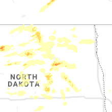 Regional Hail Map for Devils Lake, ND - Friday, July 17, 2020
