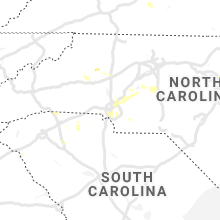 Hail Map for charlotte-nc 2020-07-18