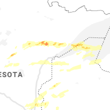 Regional Hail Map for Duluth, MN - Saturday, July 18, 2020