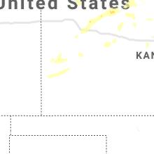 Regional Hail Map for Garden City, KS - Saturday, July 18, 2020