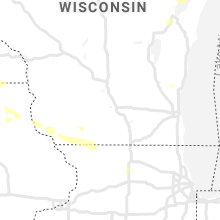 Regional Hail Map for Madison, WI - Saturday, July 18, 2020