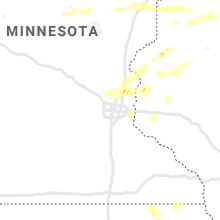 Regional Hail Map for Minneapolis, MN - Saturday, July 18, 2020