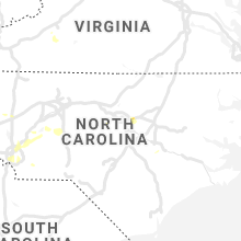 Regional Hail Map for Raleigh, NC - Saturday, July 18, 2020