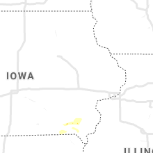 Regional Hail Map for Cedar Rapids, IA - Sunday, July 19, 2020