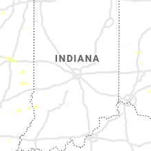 Regional Hail Map for Indianapolis, IN - Sunday, July 19, 2020