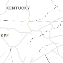 Regional Hail Map for Knoxville, TN - Monday, July 20, 2020