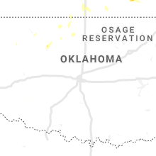Regional Hail Map for Oklahoma City, OK - Monday, July 20, 2020