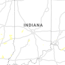 Regional Hail Map for Indianapolis, IN - Tuesday, July 21, 2020