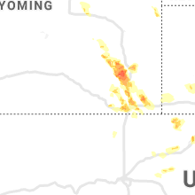 Regional Hail Map for Laramie, WY - Tuesday, July 21, 2020