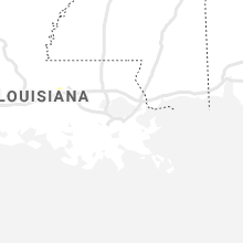 Regional Hail Map for New Orleans, LA - Tuesday, July 21, 2020