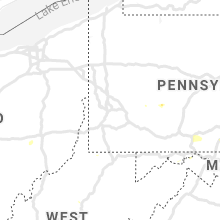 Regional Hail Map for Pittsburgh, PA - Tuesday, July 21, 2020