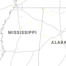 Regional Hail Map for Starkville, MS - Tuesday, July 21, 2020