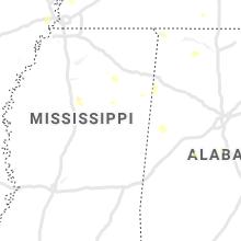 Regional Hail Map for Starkville, MS - Tuesday, July 21, 2020