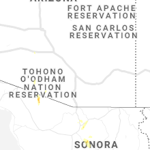Regional Hail Map for Tucson, AZ - Tuesday, July 21, 2020