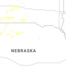 Regional Hail Map for Oneill, NE - Friday, July 24, 2020