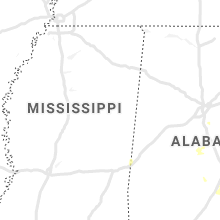 Regional Hail Map for Starkville, MS - Saturday, July 25, 2020