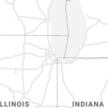 Regional Hail Map for Chicago, IL - Sunday, July 26, 2020
