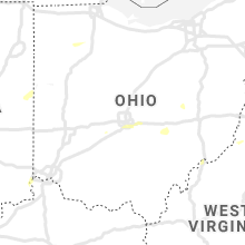 Regional Hail Map for Columbus, OH - Monday, July 27, 2020