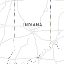 Regional Hail Map for Indianapolis, IN - Monday, July 27, 2020