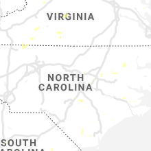 Regional Hail Map for Raleigh, NC - Tuesday, July 28, 2020