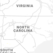 Regional Hail Map for Raleigh, NC - Wednesday, July 29, 2020