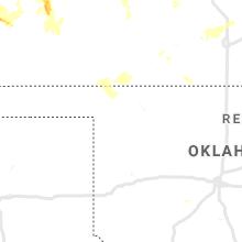 Regional Hail Map for Woodward, OK - Wednesday, July 29, 2020
