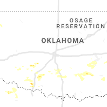 Regional Hail Map for Oklahoma City, OK - Thursday, July 30, 2020
