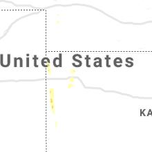 Regional Hail Map for Colby, KS - Friday, July 31, 2020