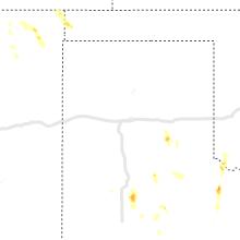 Regional Hail Map for Amarillo, TX - Sunday, August 2, 2020