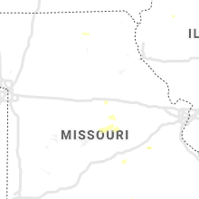 Regional Hail Map for Columbia, MO - Sunday, August 2, 2020