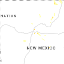 Regional Hail Map for Albuquerque, NM - Monday, August 3, 2020