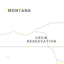 Regional Hail Map for Billings, MT - Monday, August 3, 2020