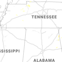 Regional Hail Map for Florence, AL - Monday, August 3, 2020