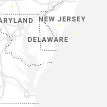 Regional Hail Map for Ocean City, MD - Thursday, August 6, 2020