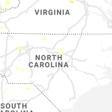 Regional Hail Map for Raleigh, NC - Thursday, August 6, 2020