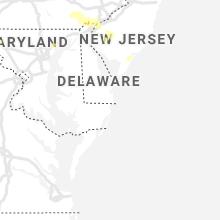 Regional Hail Map for Ocean City, MD - Friday, August 7, 2020