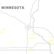 Regional Hail Map for Minneapolis, MN - Saturday, August 8, 2020