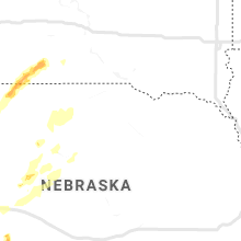 Regional Hail Map for Oneill, NE - Saturday, August 8, 2020