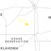 Regional Hail Map for Chanute, KS - Sunday, August 9, 2020