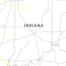 Regional Hail Map for Indianapolis, IN - Monday, August 10, 2020