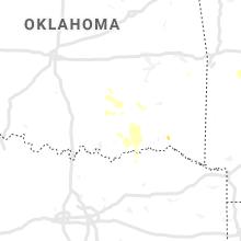 Regional Hail Map for Atoka, OK - Tuesday, August 11, 2020