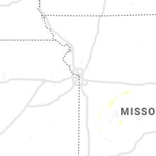 Regional Hail Map for Kansas City, MO - Tuesday, August 11, 2020