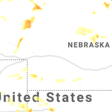 Regional Hail Map for North Platte, NE - Tuesday, August 11, 2020