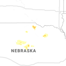 Regional Hail Map for Oneill, NE - Tuesday, August 11, 2020